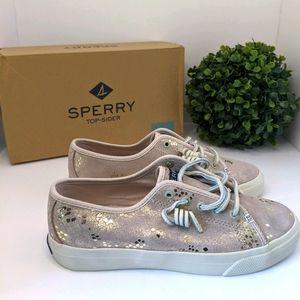 Sperry Seacoast Snake Sneaker Top-siders Sz 6